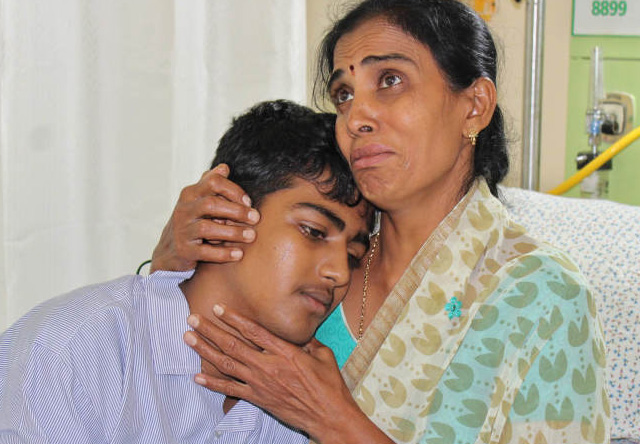 Nithin from Bangalore is fighting cancer (Leukemia) for the third time now and his mother, a poor farmer, has no means to afford the treatment he needs. Together, we can help save Nithin's life.