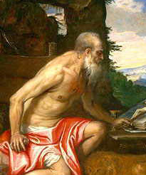 St Jerome who was born on 27 March 347 was a priest, confessor, theologian and historian. He was born at Stridon, a village near Emona on the border of Dalmatia and Pannonia.