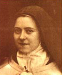 Saint Thérèse of Lisieux who was born on January 1873 – 30 September 1897 is popularly known as