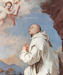 St Bruno who was born on c. 1030 was the founder of the Carthusian Order, he personally founded the order's first two communities. He was a celebrated teacher at Reims, and a close advisor of his former pupil, Pope Urban II.