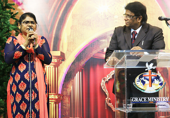 Deliverance from witchcraft and suicide after attending prayers at Grace Ministry in Mangalore. Her life was changed completely by the power of God.