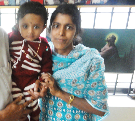 Miracle baby born after 5 years after attending prayers at Grace Ministry Mangalore.  I consulted a few renowned gynecologists but everything was in vain.